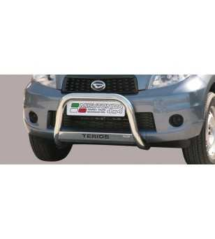 Terios 09- Medium Bar ø63 Inscripted EU - EC/MED/K/240/IX - Bullbar / Lightbar / Bumperbar - Unspecified