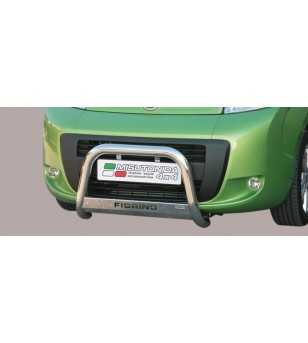 Fiorino 08- Medium Bar ø63 Inscripted EU - EC/MED/K/190/IX - Bullbar / Lightbar / Bumperbar - Unspecified