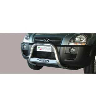 Tucson 08- Medium Bar ø63 Inscripted EU - EC/MED/K/152/IX - Bullbar / Lightbar / Bumperbar - Unspecified