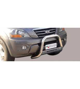 Sorento 07-09 Medium Bar ø63 Inscripted EU - EC/MED/K/188/IX - Bullbar / Lightbar / Bumperbar - Unspecified