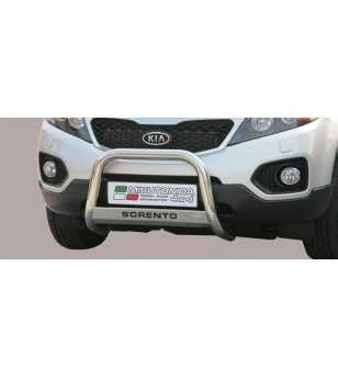Sorento 09- Medium Bar ø63 Inscripted EU - EC/MED/K/253/IX - Bullbar / Lightbar / Bumperbar - Unspecified