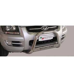 Sportage 05-08 Medium Bar ø63 Inscripted EU - EC/MED/K/158/IX - Bullbar / Lightbar / Bumperbar - Unspecified - Verstralershop