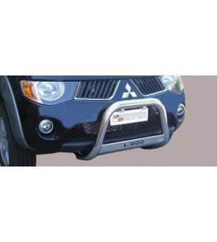 L200 06-09 Medium Bar ø63 Inscripted EU - EC/MED/K/178/IX - Bullbar / Lightbar / Bumperbar - Unspecified