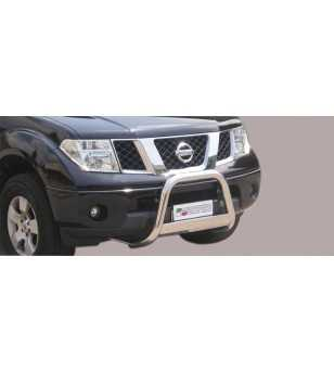 Navara 06-09 Medium Bar ø63 Inscripted EU - EC/MED/K/167/IX - Bullbar / Lightbar / Bumperbar - Unspecified
