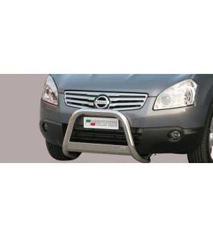 Qashqai +2 08- Medium Bar ø63 Inscripted EU - EC/MED/K/229/IX - Bullbar / Lightbar / Bumperbar - Unspecified
