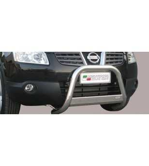 Qashqai 07-09 Medium Bar ø63 Inscripted EU - EC/MED/K/203/IX - Bullbar / Lightbar / Bumperbar - Verstralershop