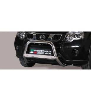 X-Trail 11- Medium Bar ø63 Inscripted EU - EC/MED/K/287/IX - Bullbar / Lightbar / Bumperbar - Unspecified - Verstralershop