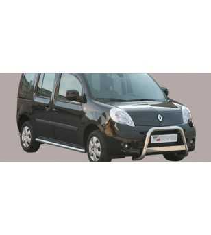 Kangoo 08- Medium Bar ø63 Inscripted EU - EC/MED/K/232/IX - Bullbar / Lightbar / Bumperbar - Unspecified - Verstralershop