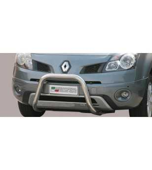 Koleos 07- Medium Bar ø63 Inscripted EU - EC/MED/K/226/IX - Bullbar / Lightbar / Bumperbar - Unspecified