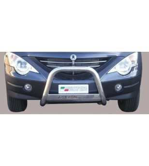 Actyon Sports 07-11 Medium Bar ø63 Inscripted EU - EC/MED/K/206/IX - Bullbar / Lightbar / Bumperbar - Unspecified