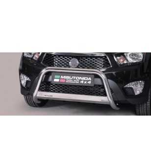 Actyon Sports 12- Medium Bar ø63 Inscripted EU - EC/MED/K/311/IX - Bullbar / Lightbar / Bumperbar - Unspecified