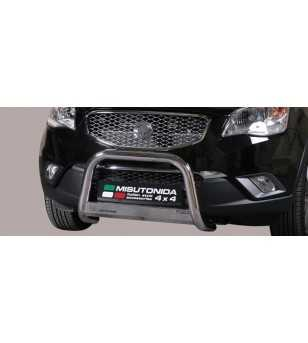 Korando 11- Medium Bar ø63 Inscripted EU - EC/MED/K/285/IX - Bullbar / Lightbar / Bumperbar - Unspecified