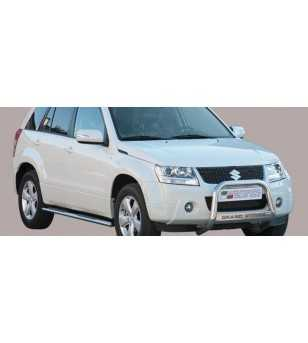 Grand Vitara 09- Medium Bar ø63 Inscripted EU - EC/MED/K/236/IX - Bullbar / Lightbar / Bumperbar - Unspecified - Verstralershop