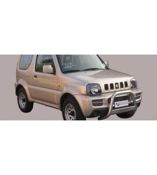 Jimny 06- Medium Bar ø63 Inscripted EU - EC/MED/K/177/IX - Bullbar / Lightbar / Bumperbar - Verstralershop