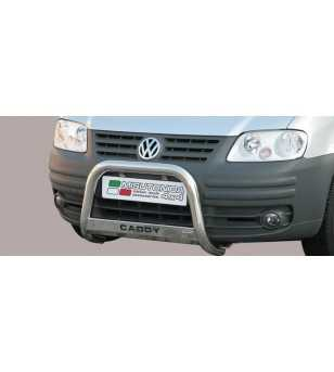 Caddy 04- Medium Bar ø63 Inscripted EU - EC/MED/K/235/IX - Bullbar / Lightbar / Bumperbar - Unspecified