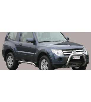 Pajero 07- Super Bar ø76 EU - EC/SB/194/IX - Bullbar / Lightbar / Bumperbar - Unspecified - Verstralershop