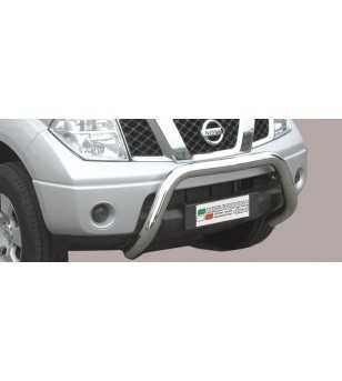 Navara 06-09 Super Bar ø76 EU - EC/SB/167/IX - Bullbar / Lightbar / Bumperbar - Unspecified