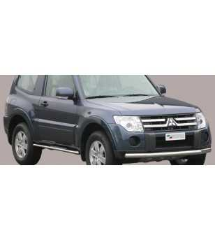 Pajero 07- Flat Front Protection