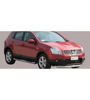 Qashqai 07-09 Flat Front Protection - PA/203/IX - Bullbar / Lightbar / Bumperbar - Unspecified