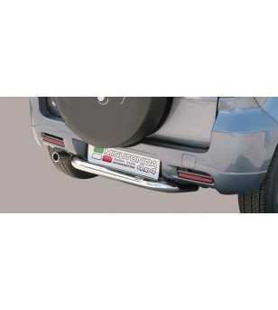 Terios 09- Rear Protection - PP1/240/IX - Rearbar / Opstap - Unspecified