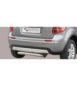 SX4 09- Rear Protection - PP1/258/IX - Sidebar / Sidestep - Unspecified - Verstralershop