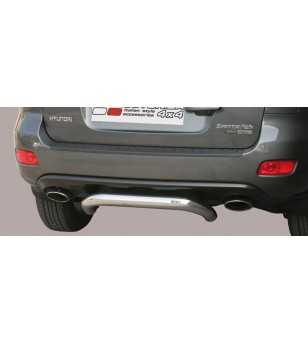 Santa Fe 06-10 Rear Protection - PP1/176/IX - Rearbar / Opstap - Unspecified