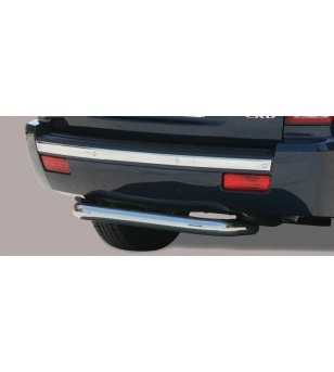 Grand Cherokee 05-11 Rear Protection - PP1/166/IX - Rearbar / Opstap - Verstralershop