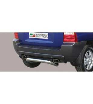 Sportage 05-08 Rear Protection - PP1/158/IX - Rearbar / Rearstep - Unspecified