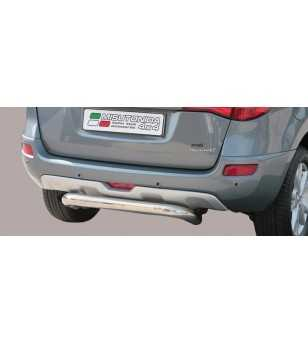 Koleos 07- Rear Protection - PP1/226/IX - Rearbar / Rearstep - Unspecified