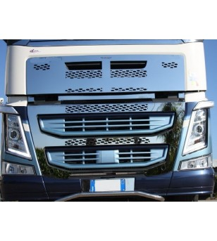 Volvo FH 2013- Full Grille RVS - 012VFH132013 - Grille - Acitoinox - Italian series - Verstralershop