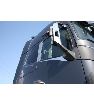 Volvo FH 2013- mirror covers stainless