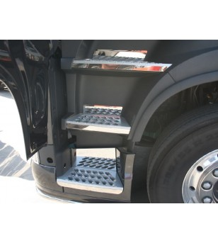 Volvo FH 2013- steps stainless