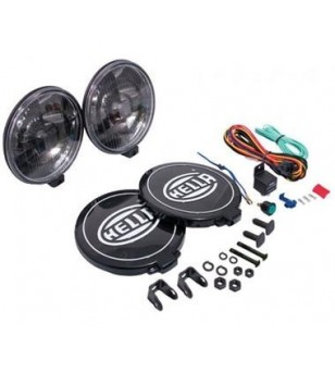 Hella Comet 500 Black Magic (set incl wiring)