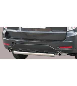 Forester 08- Rear Protection - PP1/220/IX - Rearbar / Rearstep - Unspecified
