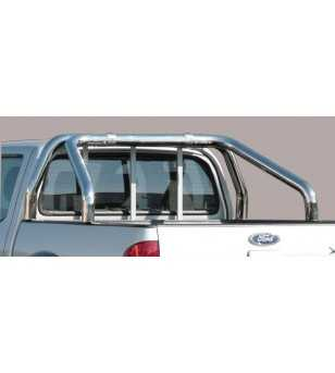 Ranger 06-08 Roll Bar on Tonneau - 2 pipes - RLSS/2204/IX - Rollbars / Sportsbars - Unspecified
