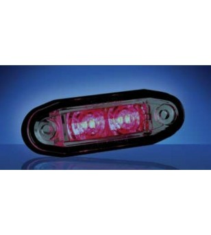 3005 - LED Markeringslamp Rood - 1001-3005-R - Verlichting - Unspecified
