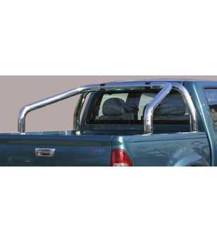 D-Max 03-07 Roll Bar on Tonneau - 2 pipes - RLSS/2142/IX - Rollbars / Sportsbars - Unspecified