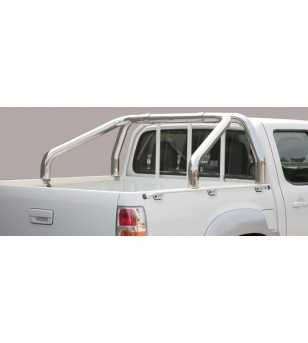 BT50 09-12 Roll Bar on Tonneau - 2 pipes - RLSS/2252/IX - Rollbars / Sportsbars - Unspecified - Verstralershop