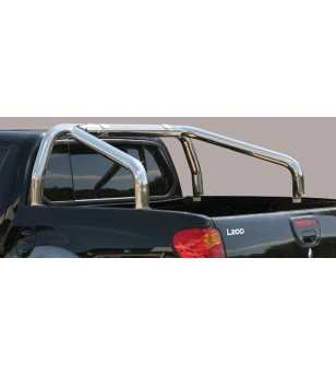L200 06-09 Double Cab Roll Bar on Tonneau - 2 pipes