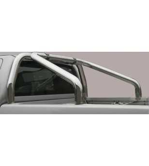 Navara 10- Double Cab Roll Bar on Tonneau - 2 pipes