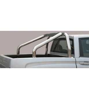 Actyon Sports 12- Roll Bar on Tonneau - 2 pipes - RLSS/2311/IX - Rollbars / Sportsbars - Unspecified