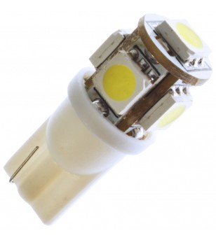 W5W Bulb LED 12V 5 LED Xenon White - 321051 - Lighting - Verstralershop
