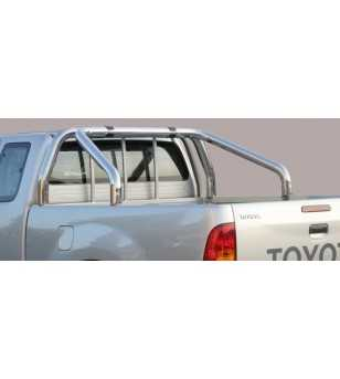 Hilux 01-05 Roll Bar on Tonneau - 2 pipes