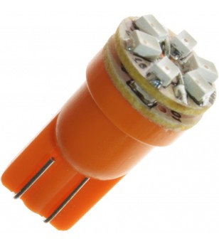 W5W Bulb LED 12V 9 LED Yellow/Orange - 121093  - Lighting - Verstralershop