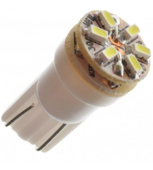 W5W Bulb LED 12V 9 LED Xenon White - 121091 - Lighting - Verstralershop