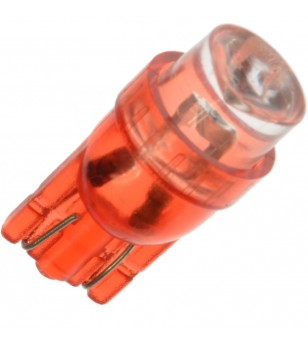 W5W Bulb LED 24V 1 LED Red - 24102  - Lighting - Verstralershop
