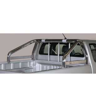 Hilux 11- Roll Bar on Tonneau - 2 pipes