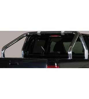 Amarok 11- Roll Bar on Tonneau - 2 pipes