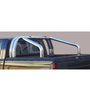 King Cab 02-05 Roll Bar on Tonneau - 3 pipes - RLSS/386/IX - Rollbars / Sportsbars - Unspecified
