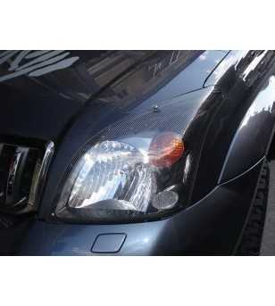 Landcruiser 120 03-08 Headlamp Protectors carbon look - 239180CF - Other accessories - Unspecified